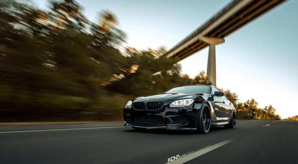 Компания БМВ обнародовала фотографии «заряженного» купе M6 Gran Coupe