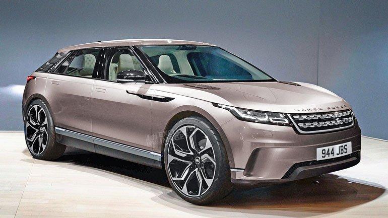 Британский Land Rover готовит абсолютно новый кроссовер