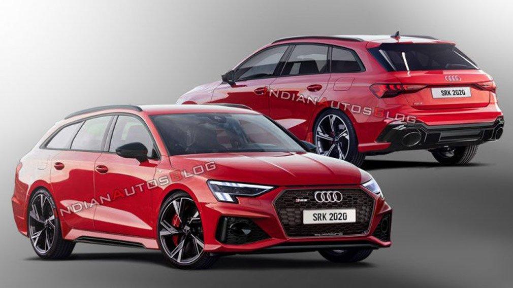 Audi RS 3 Avant впервые показали на рендерах