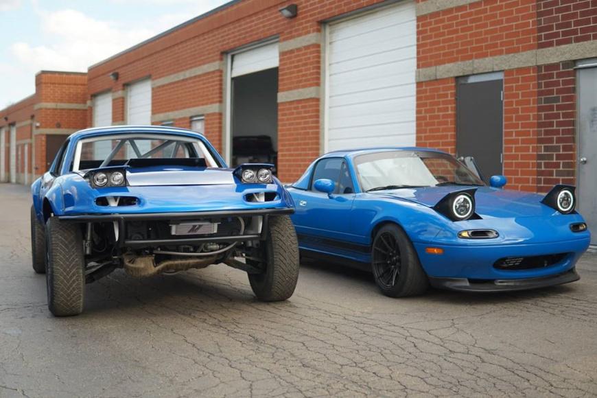 Subaru WRX Swapped Miata - раллийный автомобиль вашей мечты