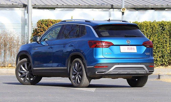 Кроссовер Volkswagen Tayron пользуется ажиотажным спросом