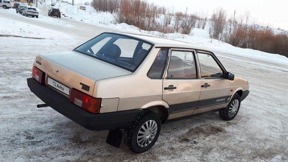 Редкий полноприводный ВАЗ-21099 выставили на продажу