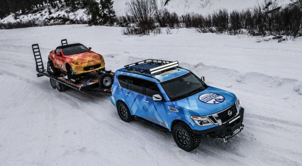 Ниссан  Armada версии Snow Patrol вскором времени  выйдет в реализацию