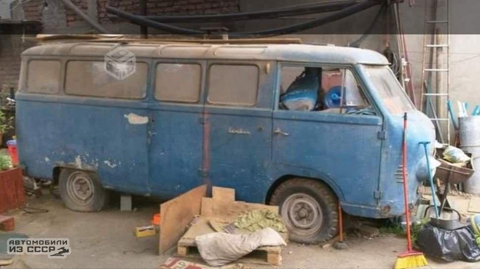 В Чили случайно отыскали эксклюзивный советский микроавтобус