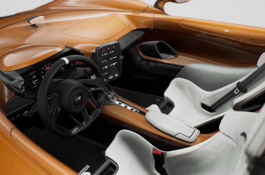 Компания McLaren построила эксклюзивный суперкар