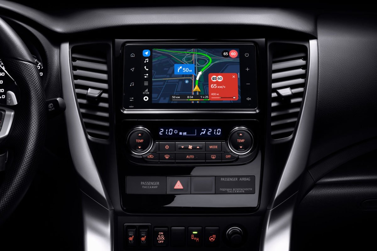Mitsubishi Outlander и Pajero Sport обзавелись «Яндекс.Авто»