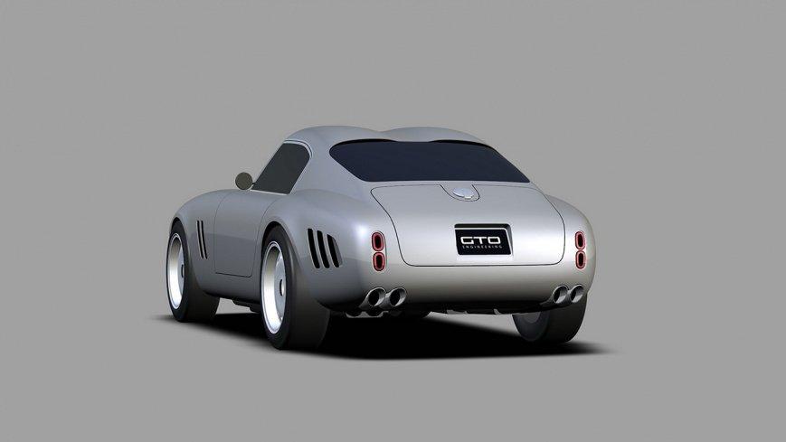 В сети показали современный вариант классического Ferrari 250 GTO