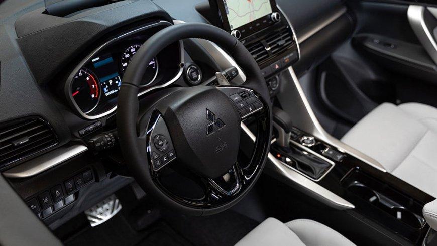 В России стартовали продажи модернизированного кроссовера Mitsubishi Eclipse Cross