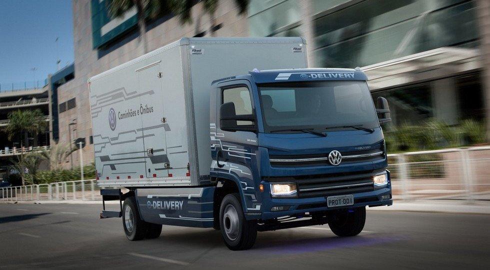 Электрогрузовик Фольксваген E-Delivery выйдет в 2020г