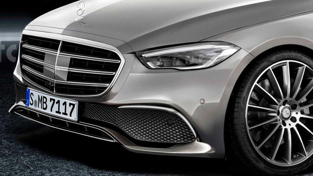 В интернете опубликовали изображения нового Mercedes-Benz S-Class