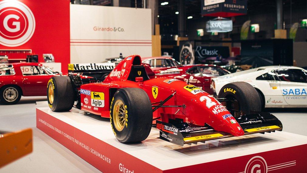 На аукцион выставят первый Ferrari Михаэля Шумахера