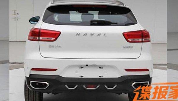 Новый кроссовер Haval H4 получил внешний вид встиле WEY VV7