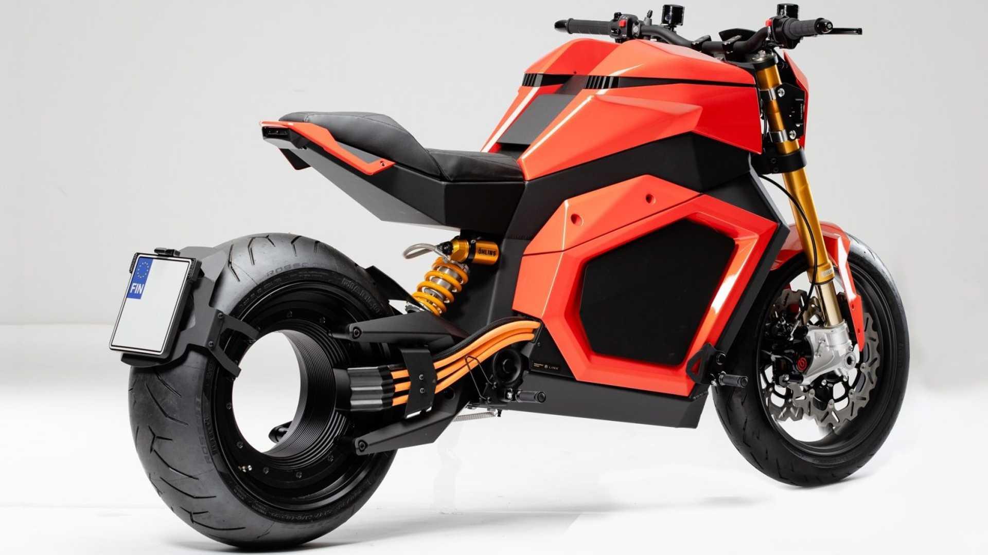 Футуристический электрический мотоцикл Verge пойдет в производство