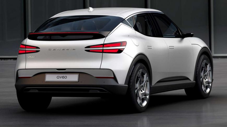 В Сети появились новые снимки стильного Genesis GV60
