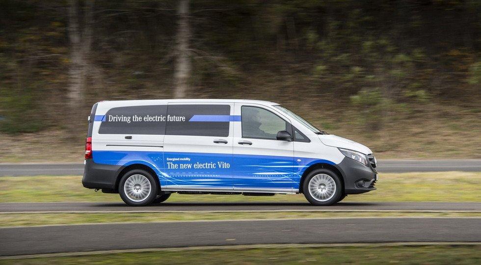 Mercedes начал продажи нового электрического фургона eVito