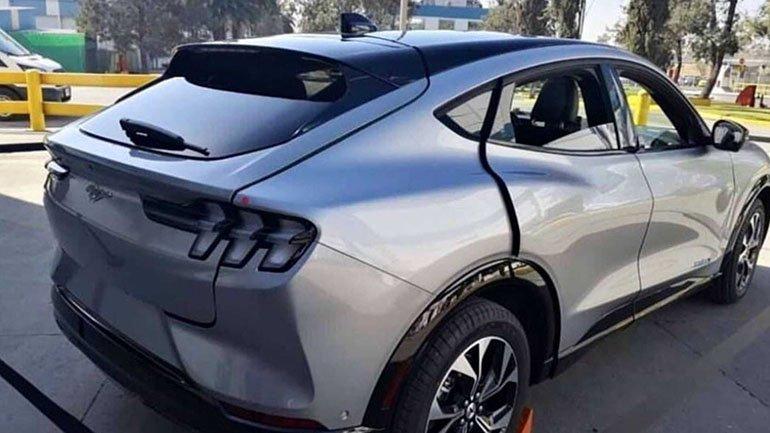 В Сети показали первый собранный Ford Mustang Mach-E
