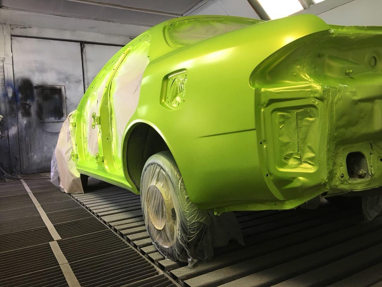 Компания Toyota изобрела безупречный метод окраски авто