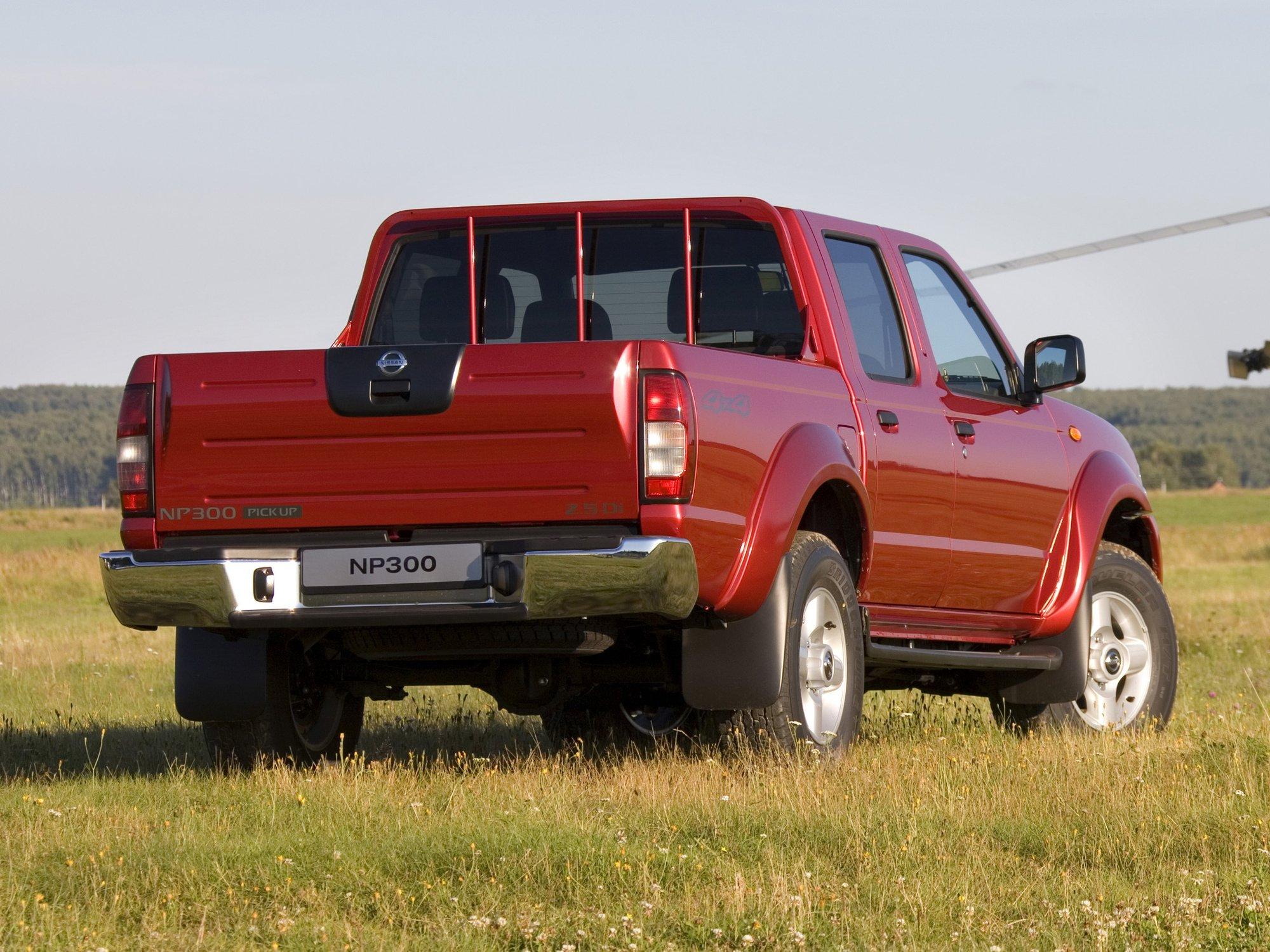 Кузов обновлённого Nissan Navara намного крепче, чем кузов первого поколения модели