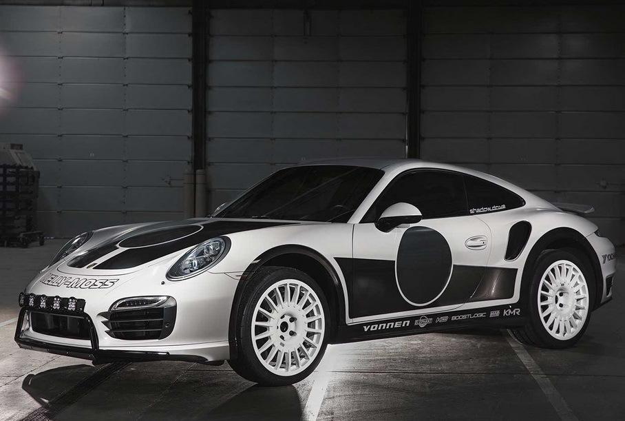 Из Porsche 911 сделают 700-сильный раллийный гибрид