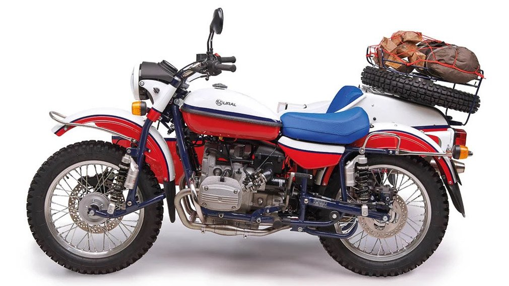 Мотоцикл «Урал» выпустили в ограниченной серии для европейского рынка