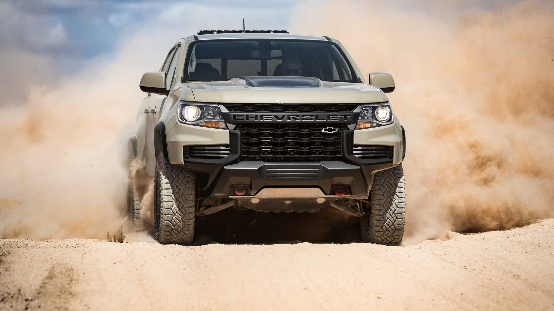 Новое поколение пикапа GMC Canyon/Chevy Colorado получит только один двигатель