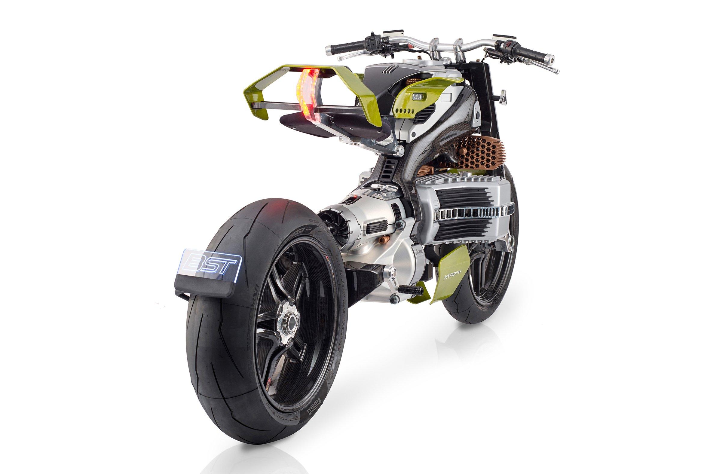 BST показала электроцикл HyperTEK стоимостью 80 тысяч долларов