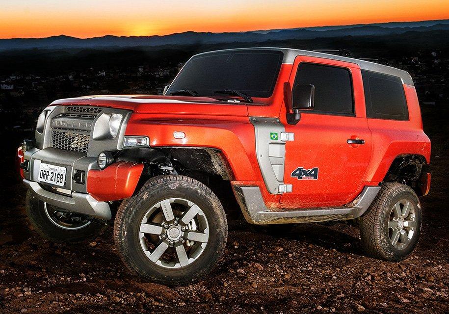 Возрожденный Форд Bronco: новые детали ихарактеристики