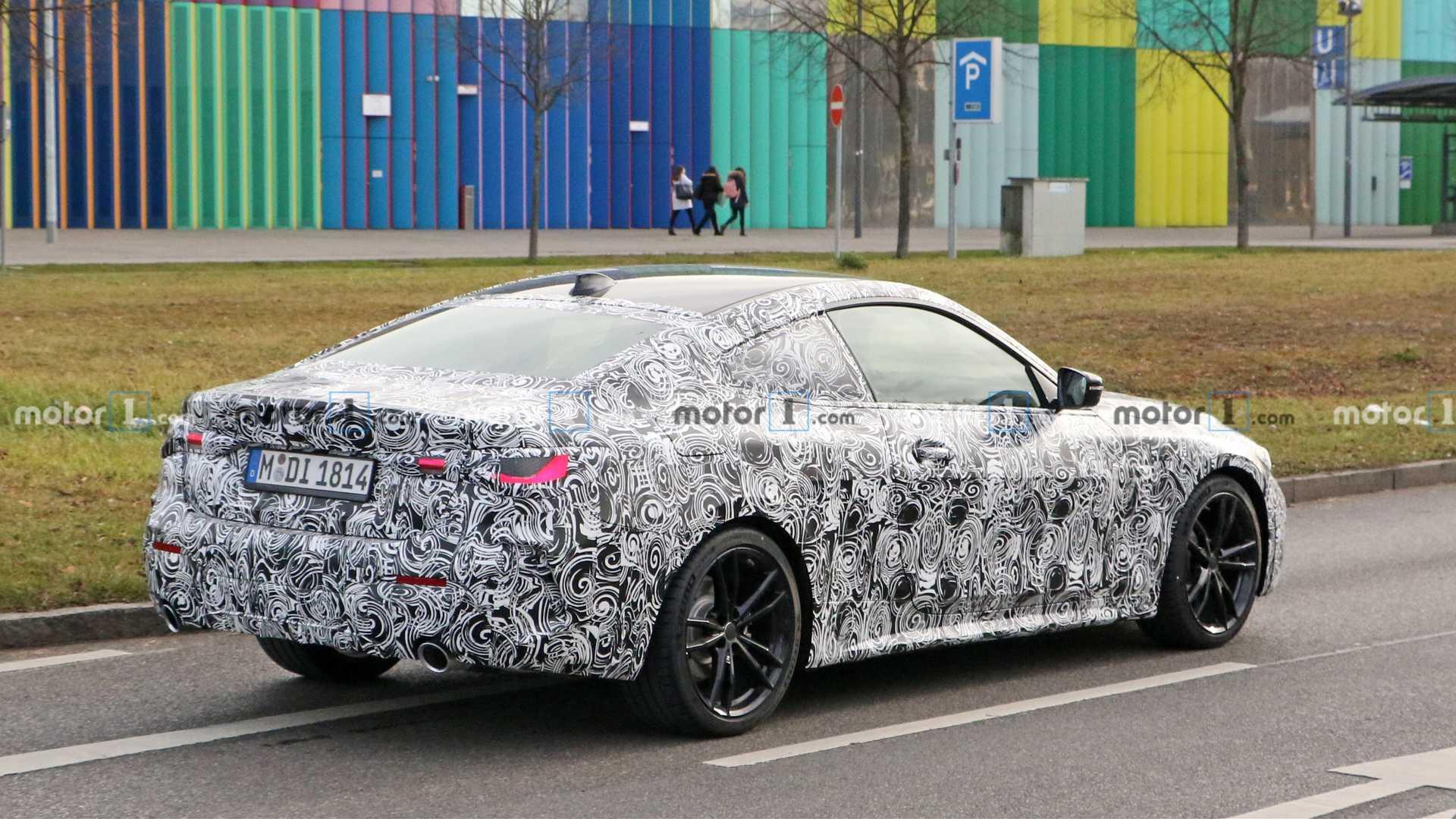 На тестах замечен прототип обновленного BMW 4-Series