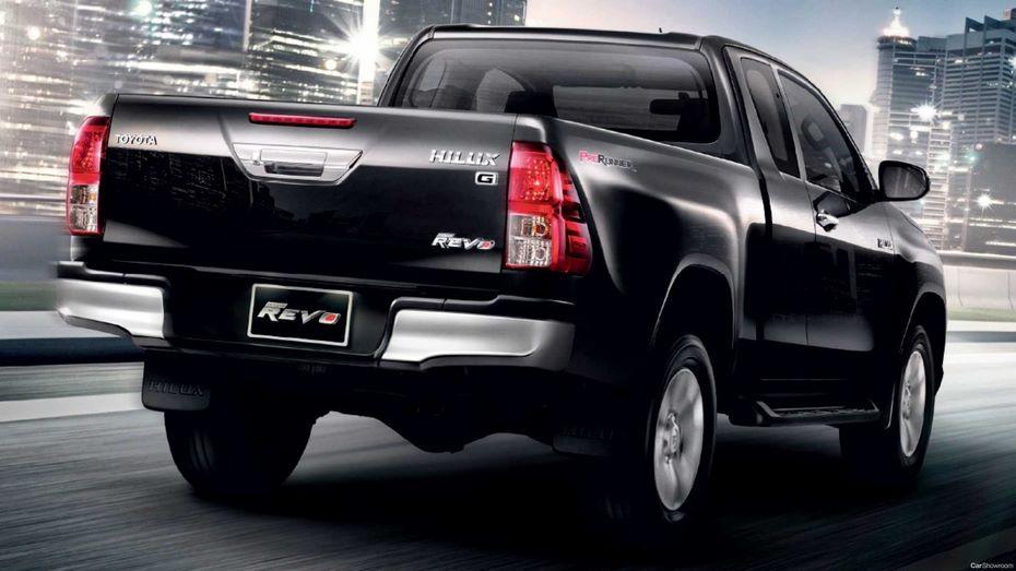 Новейшую люксовую версию получит пикап Тойота Hilux 2018