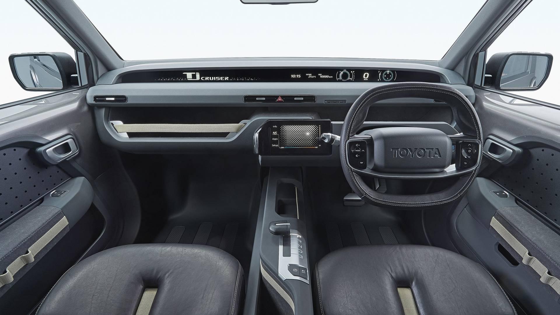Toyota представит серийный Toyota TJ Cruiser в 2022 году