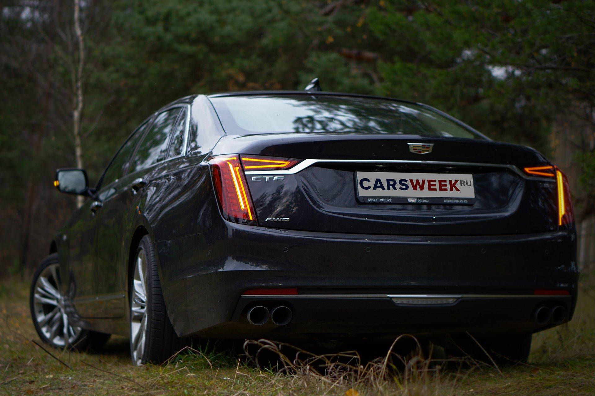 Тест-драйв Cadillac CT6