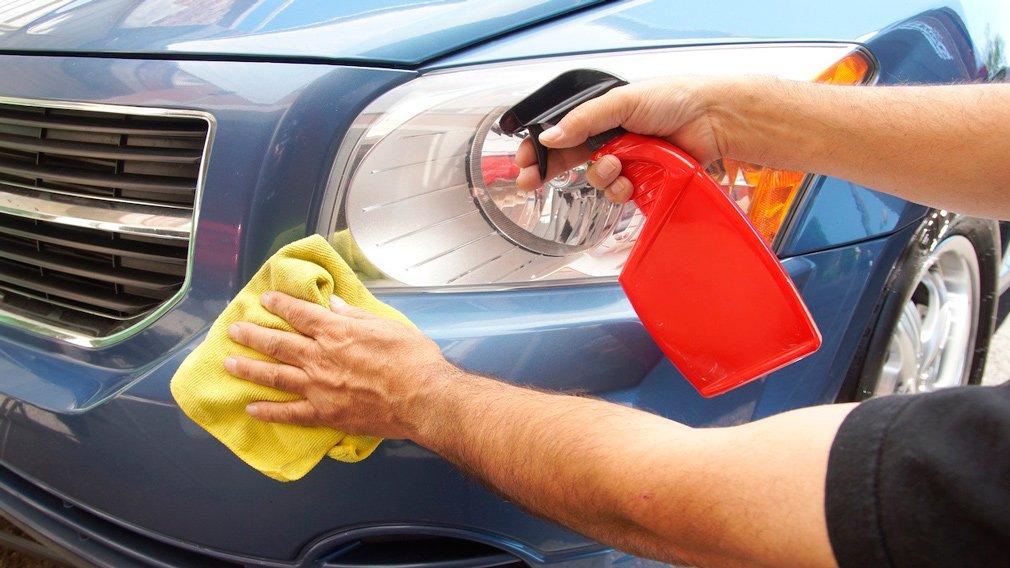 В Сети рассказали, как помыть автомобиль без воды