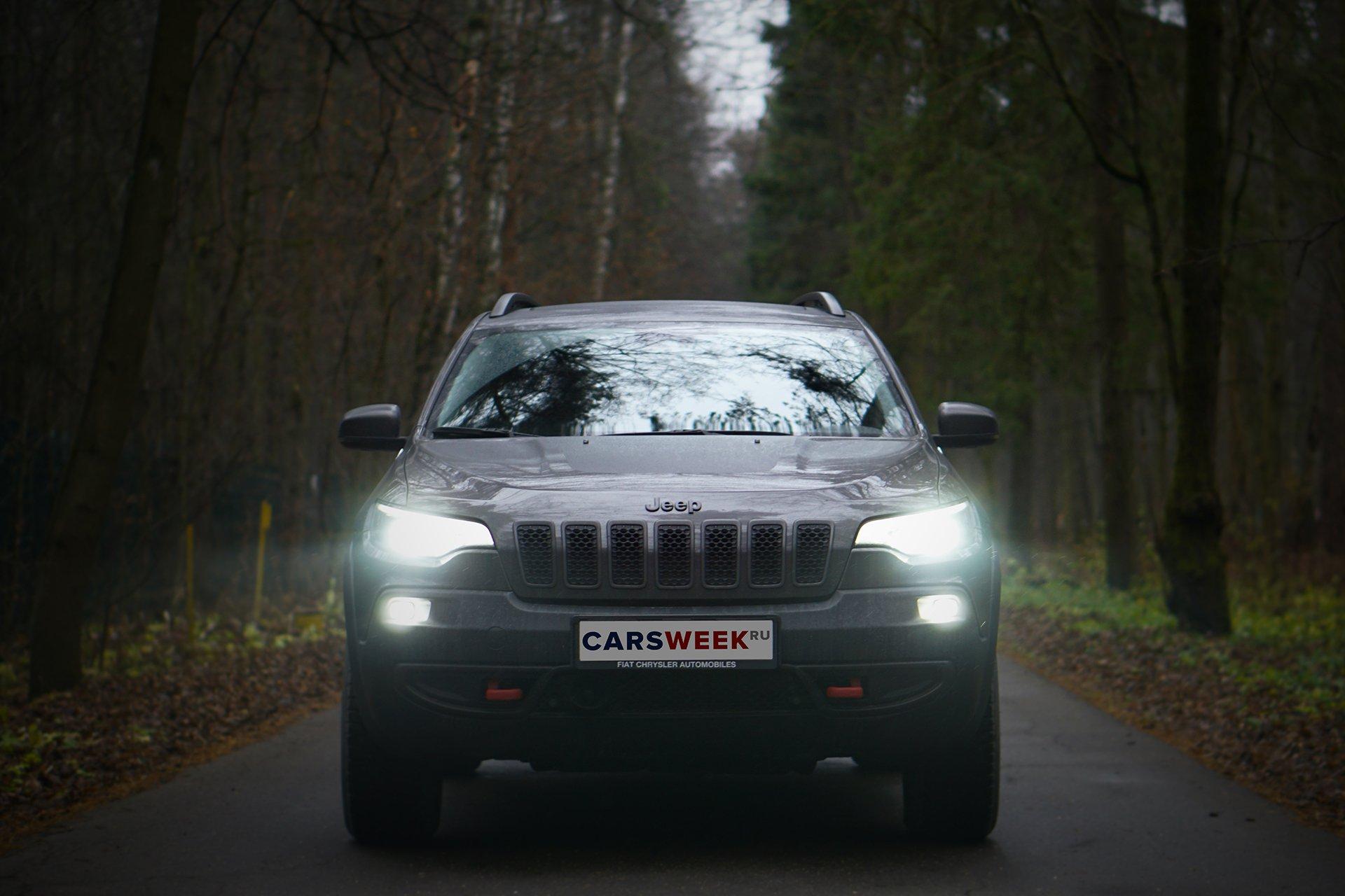 Тест Jeep Cherokee Trailhawk в Российских условиях