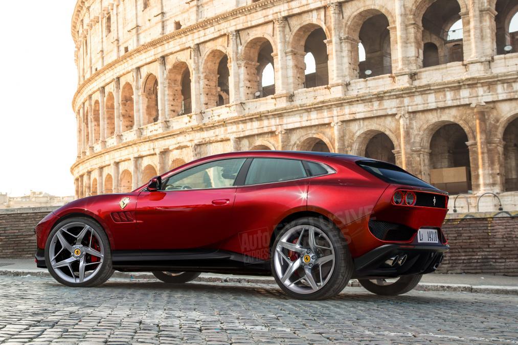Появились подробности о первом кроссовере Ferrari