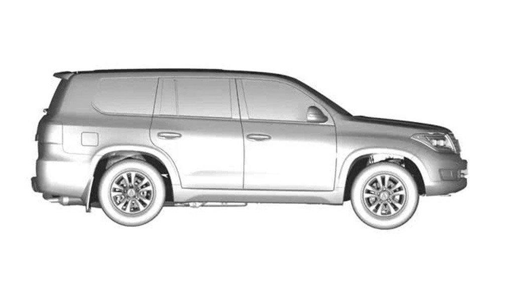 Запатентована копия Toyota Land Cruiser 200