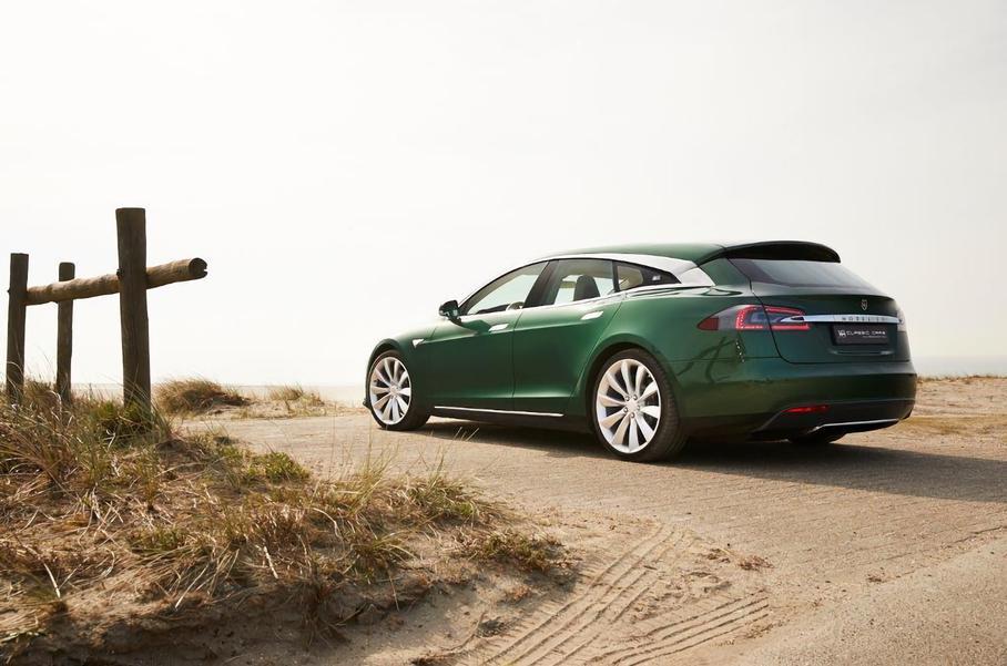 Эксклюзивный универсал Tesla появился в продаже