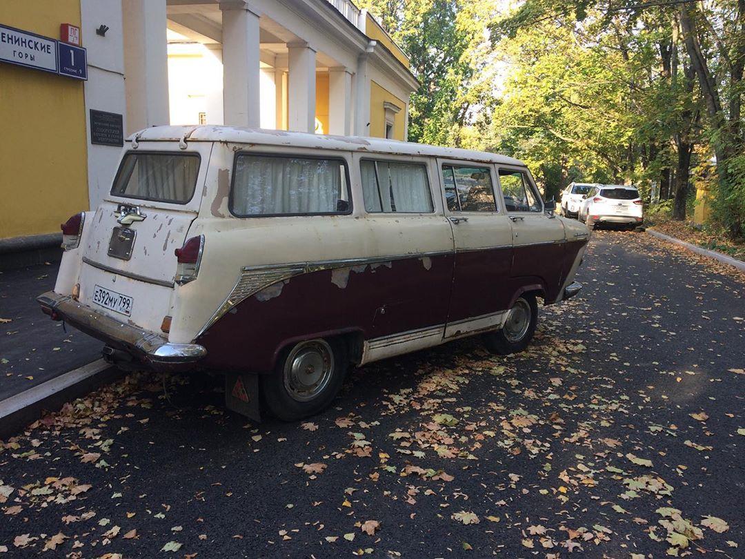 В сети показали микроавтобус, сделанный из «РАФа» и «Волги»