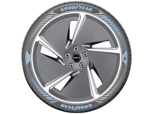 Компания Goodyear представила образец шин для электромобилей