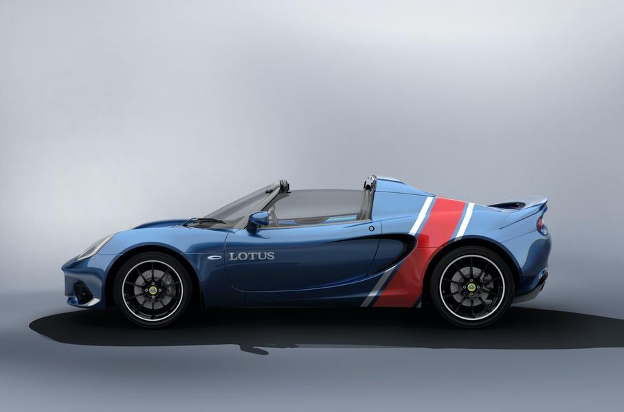 Lotus создаст 100 спорткаров Elise в «исторической» расцветке