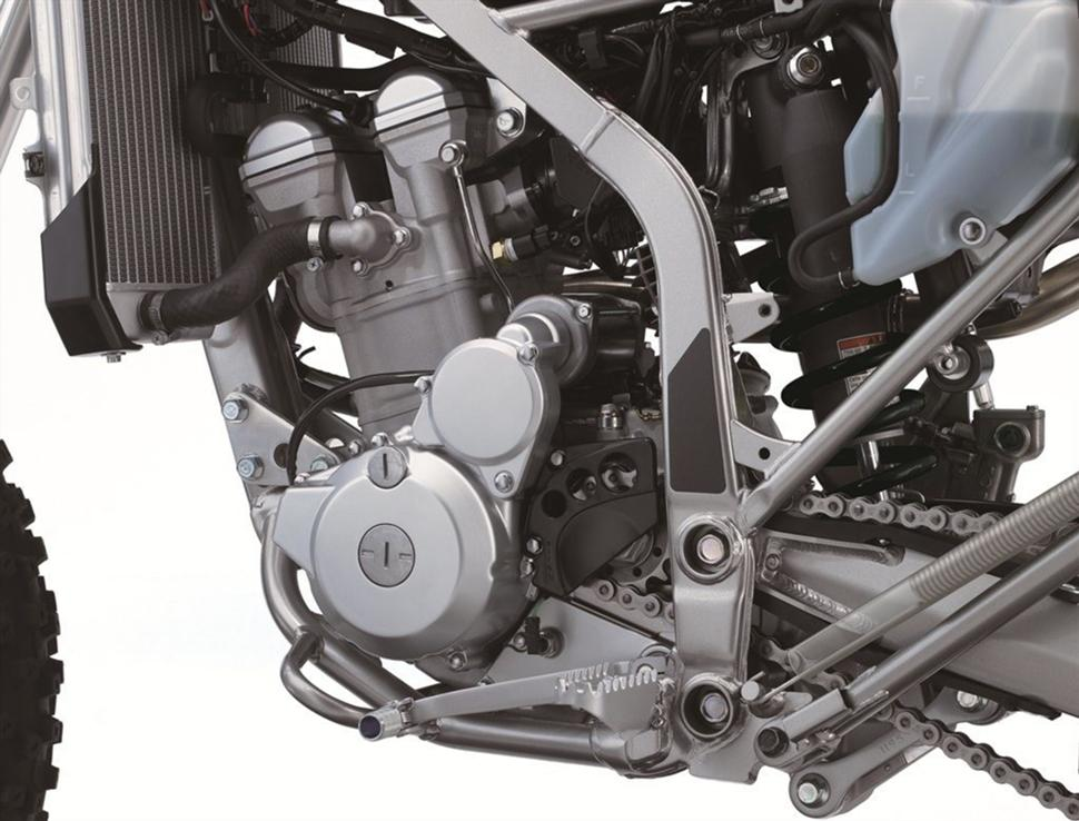 Компания Kawasaki представила новый эндуро KLX300R 2020