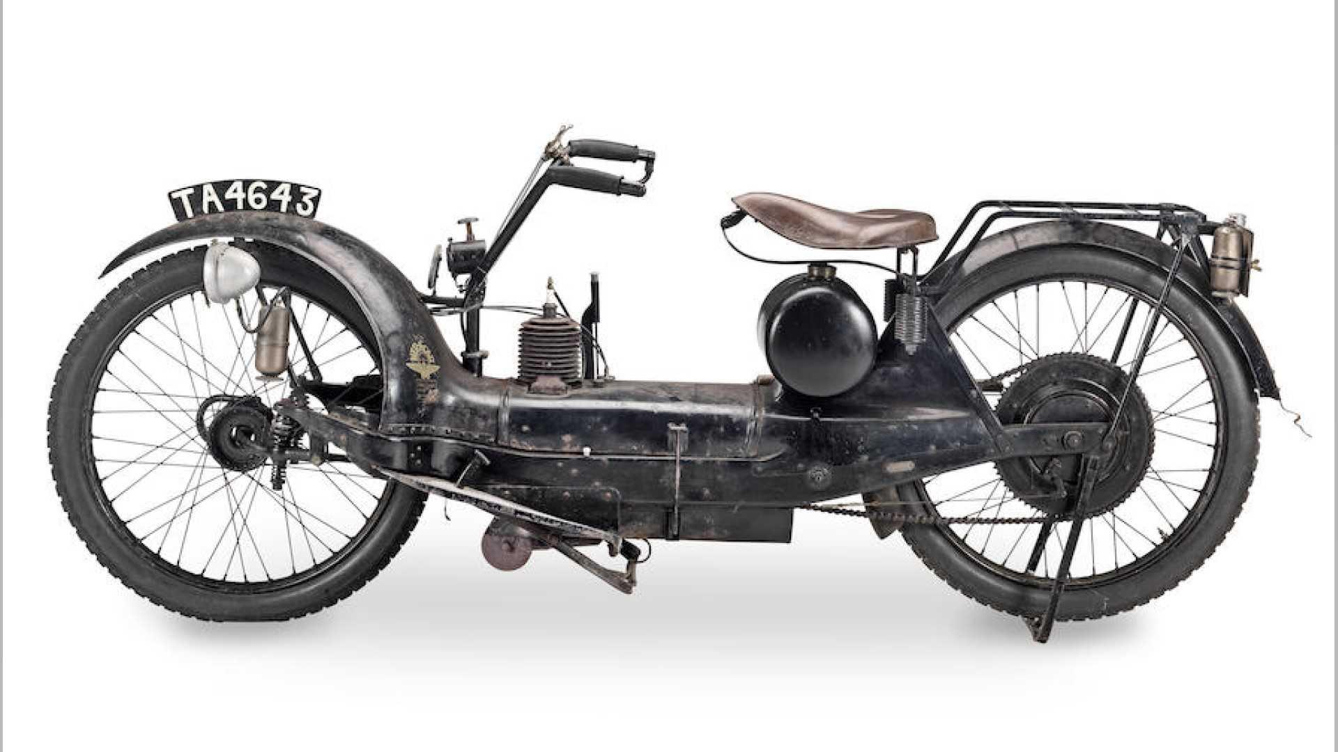 Ner-a-Car: необычный мотоцикл, рожденный 100 лет назад