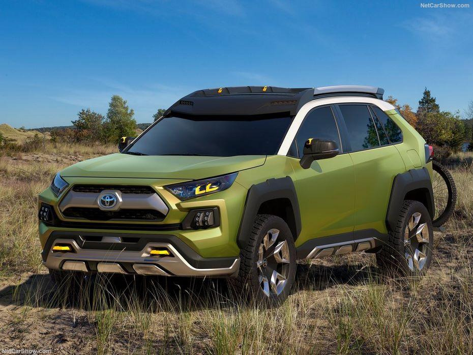 Брутальный «внедорожник» Toyota FT-AC получит серийное воплощение