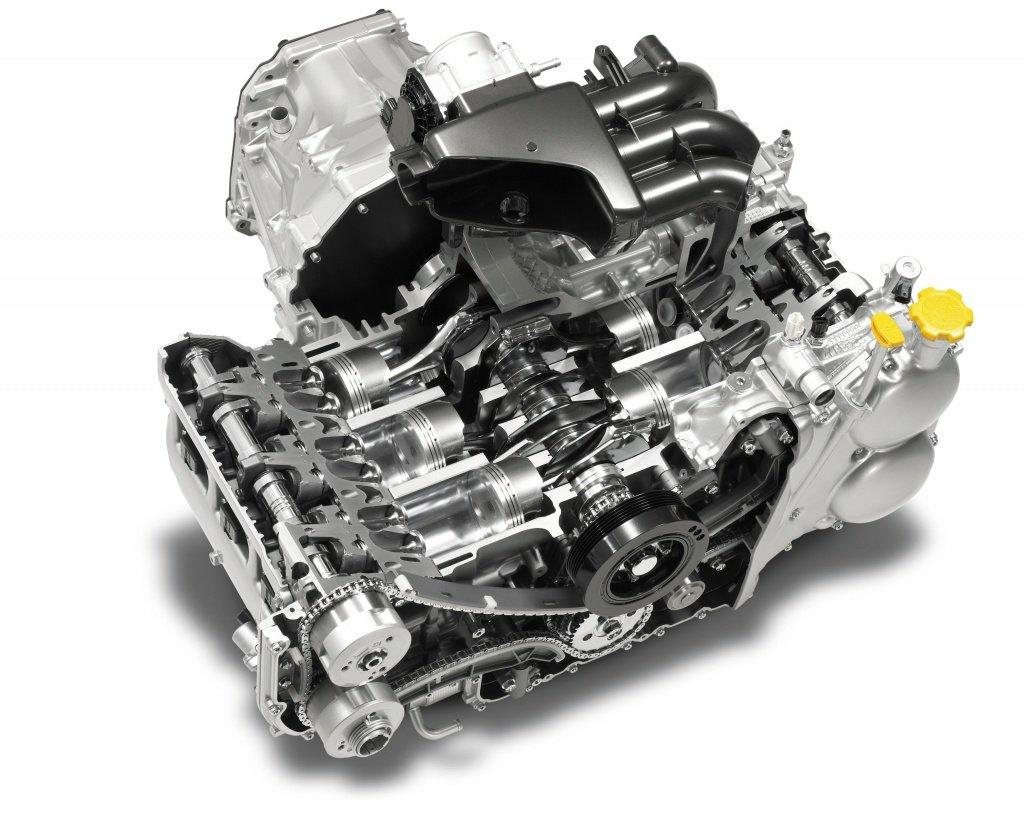 Оппозитные двигатели субару