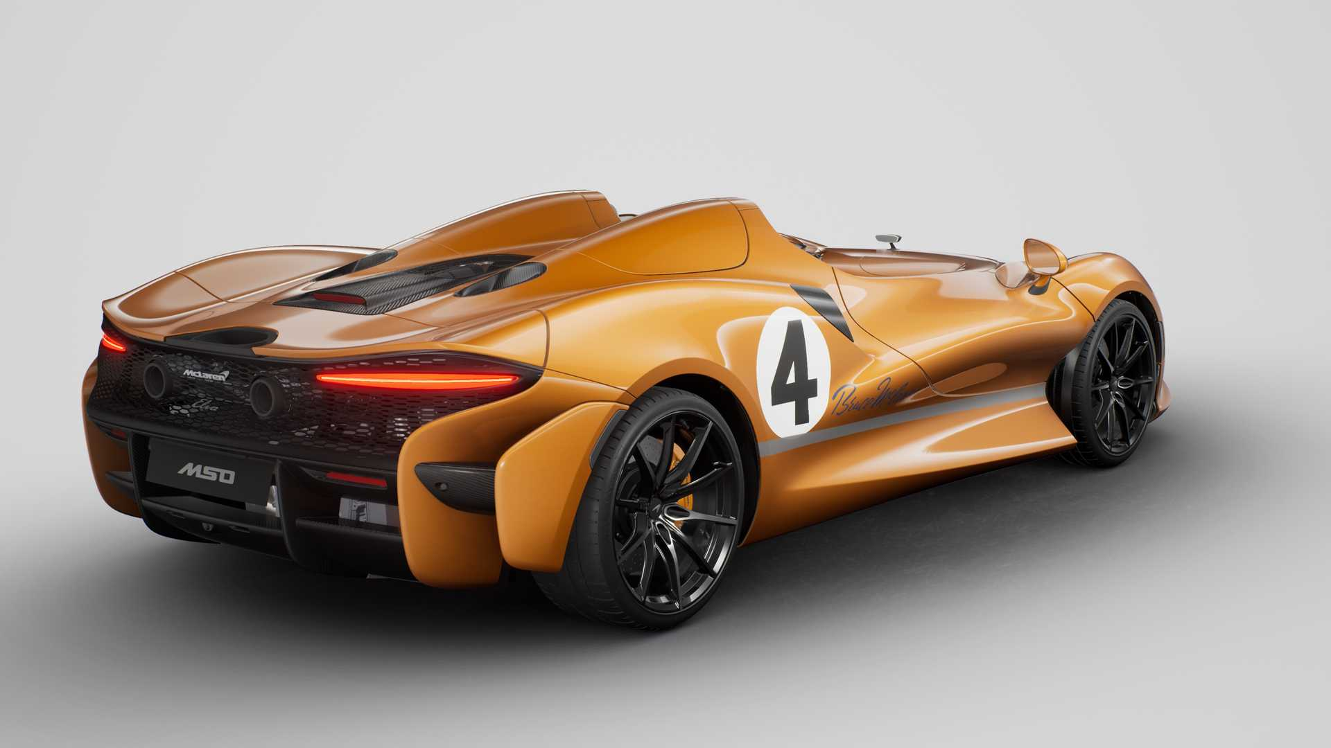 McLaren решил сократить объемы производства спидстера Elva