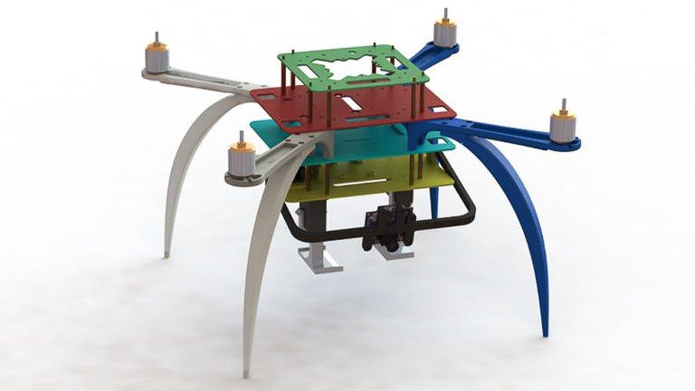 Компания Ford запатентовала беспилотник для машины