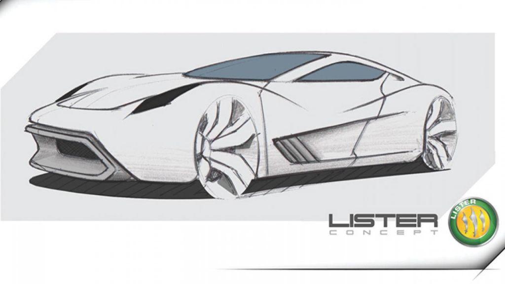 Британская компания Lister представила официальный рендер суперкара StormII