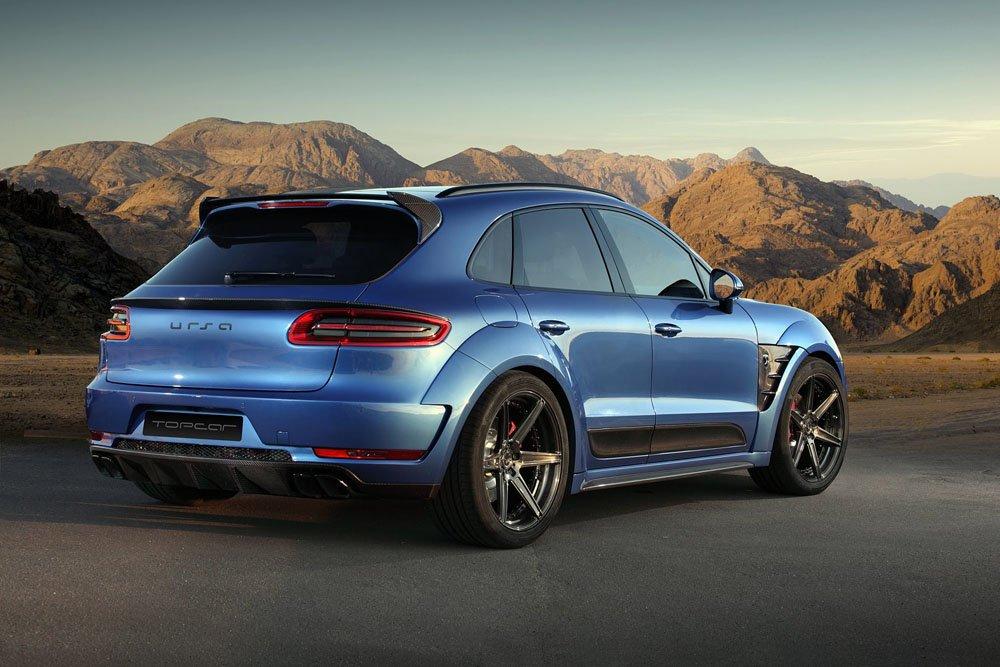 Назвали дату появления электрического Porsche Macan