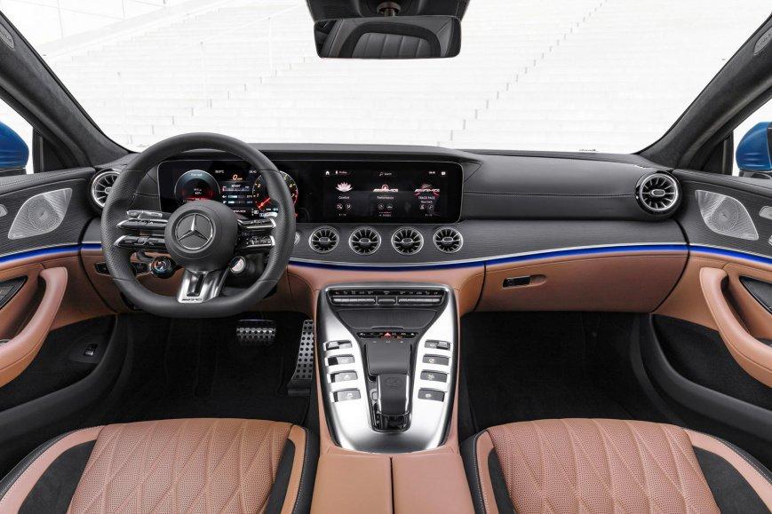 Mercedes-AMG GT 2021 модельного года доступен для заказа
