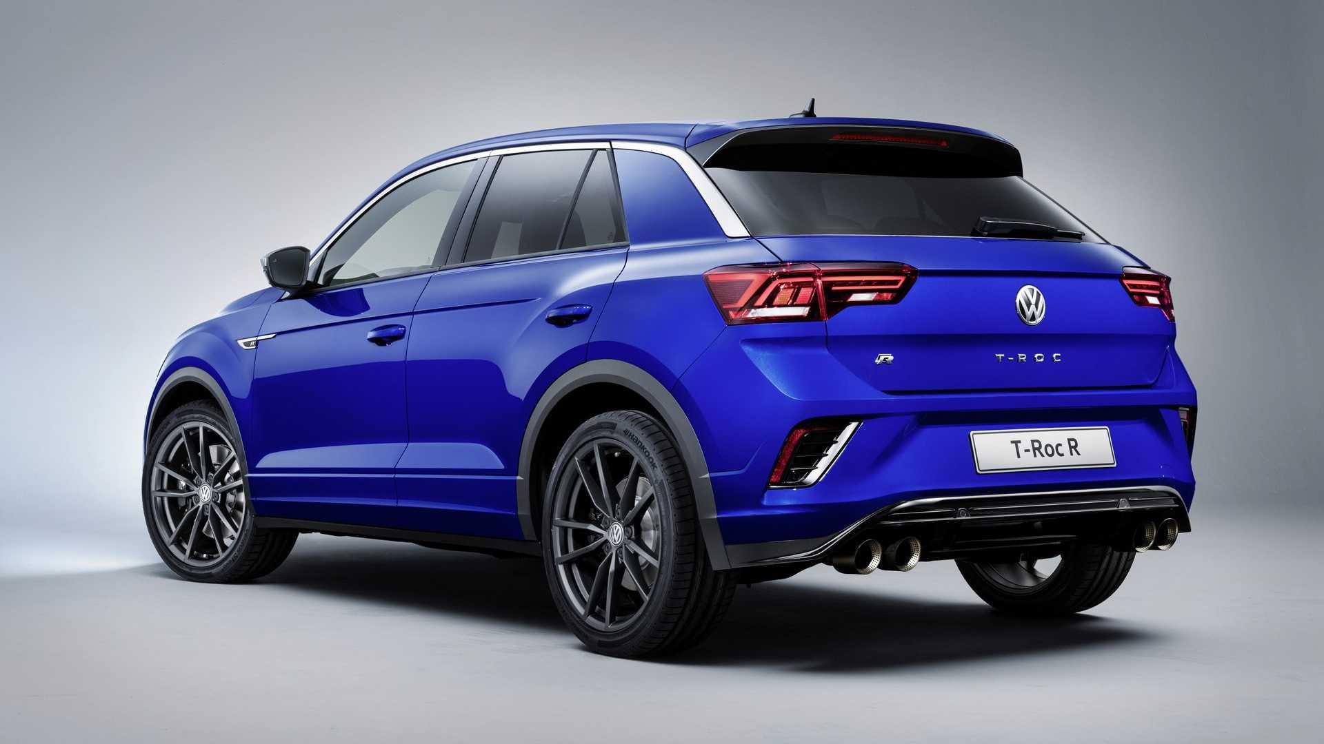 VW планирует представить «заряженный» гибридный кроссовер T-Roc GTE