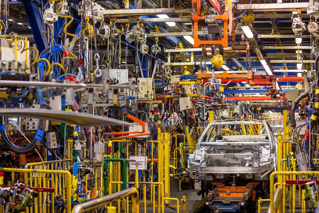 В Санкт-Петербурге снизилось производство машин